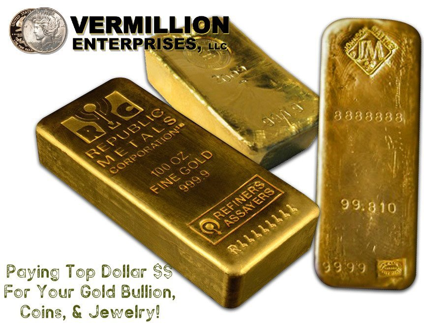 Sell your gold to spring hill's gold dealer and coin shop serving New Port Richey – Vermillion Enterprises